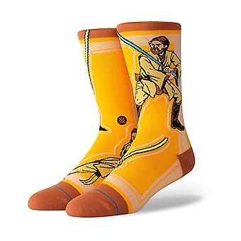 Stance Star Wars Jedi Crew Socks in Yellow