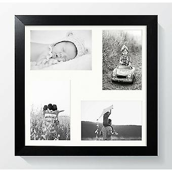 Multi Aperture Photo Frame 721 Wall Mount Contemporary Square Picture Collage