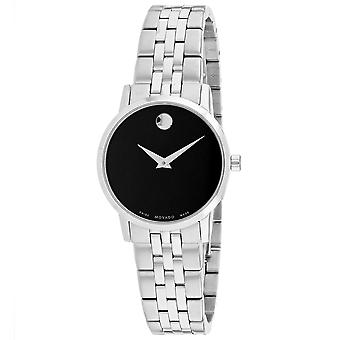 Movado Mujeres's Museo Black Dial Watch - 607397
