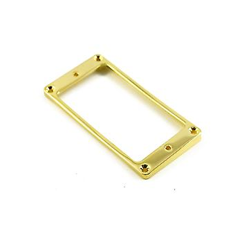 WD Music Humbucker Mounting Ring Low Gold Arched (metal)