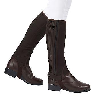 Dublin unisex Easy Care halve chaps II vinter presse stud fastgørelse sko