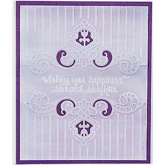 Spellbinders Cortar carpetas de relieve - Regal Swirl
