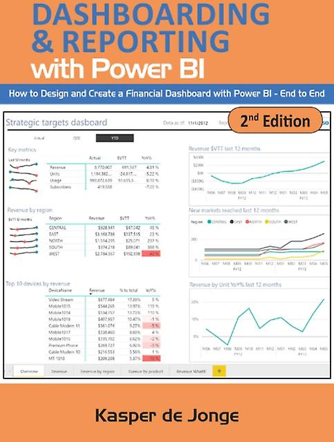 Absolute Guide to Dashboarding and Reporting with Power BI by Kasper de Jonge