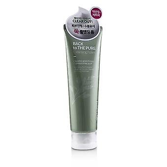 Hddn=lab Back To The Pure Cleansing Foam - Calming & Soothing Cleanses Fine Dust - 130ml/4.39oz