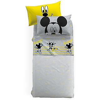 Completo Lenzuola Mickey Mouse Relax Caleffi Letto 1,5p