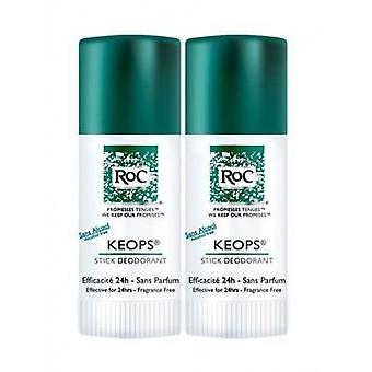 Roc Cheops Deodorant Stick Alcohol Free Duplo 40 g