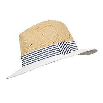 Mens Classic Quality Paper Straw Fedora Style Crushable Summer Sun Hat