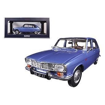 1968 Renault 16 Cobalt Blue Metallic 1/18 Diecast Model Car par Norev