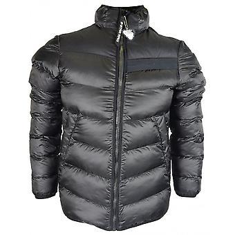 G-Star Deline Quilted Zip Up Black Jacket