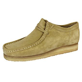 Clarks originals wallabee men's maple suede shoes