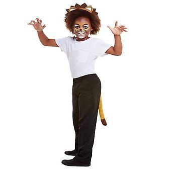 Smiffys make up FX, Kids Lion kit, Aqua Child orange