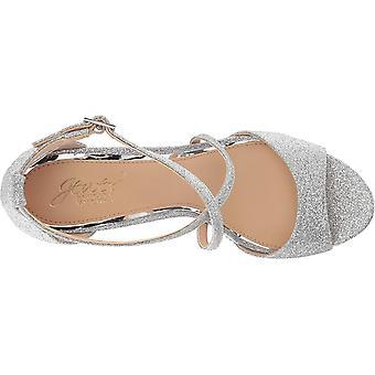 BADGLEY MISCHKA Womens Averie tecido aberto Toe casual sandálias plataforma