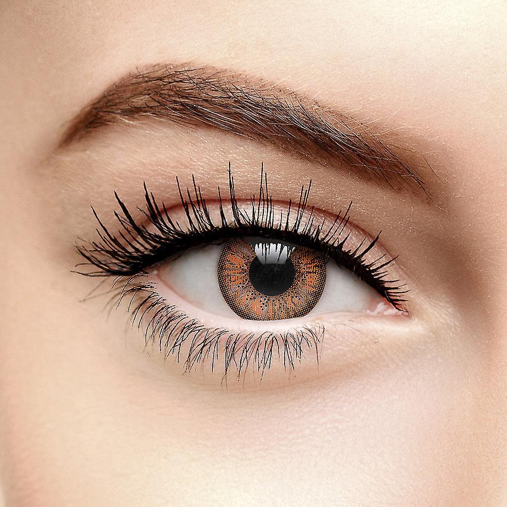 Hazel Autumn Tri Tone Coloured Contact Lenses (90 Day)