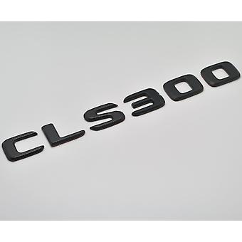 Matt Black CLS300 Flat Mercedes Benz Car Model Numbers Letters Badge Emblem For CLS Class W219 W218 C257 AMG