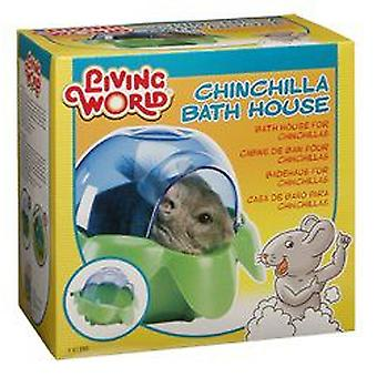 Living World L.W. BATH FOR CHINCHILLAS (Small pets , Hygiene and Cleaning , Toilets)