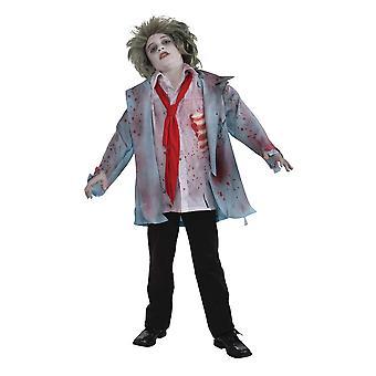 Disfraz de niño zombi