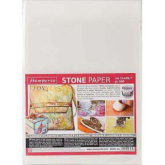 Stamperia Washable Stone Paper 8.25