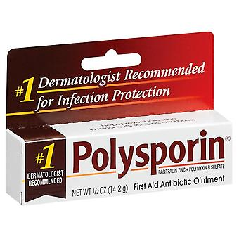 Polysporin first aid antibiotic ointment, 0.5 oz