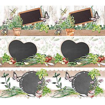 Studio Light shrink foil 380x110 mm Herbs SHRINKSL54