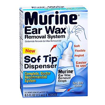 Murine ear wax removal system, 1 kit