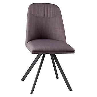 Wellindal Swivel Upholstered Chair Metal Cris (Furniture , Chairs , Chairs)