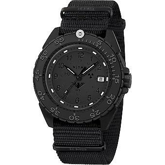 KHS Wristwatch الرجال المنفذ الأسود الصلب XTAC CR KHS. ENFBSCRXT.NB