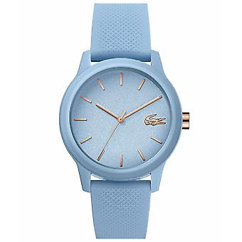 Lacoste 2001066 Women's 12.12 Blue Silicone Wristwatch