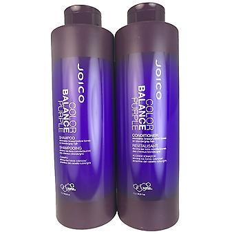 Joico kleur balans paars haar shampoo en conditioner duo 33,8 oz elk