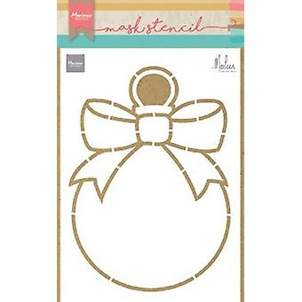 Marianne Design Stencils Christmas Bauble By Marleen Ps8017 149x210 mm