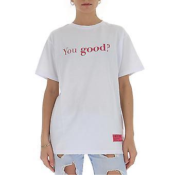 Irène Igtyg001100 Femmes-apos;s White Cotton T-shirt