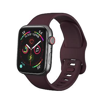 Apple Watch βραχιόλι 38/40 σιλικόνη - Σκούρο κόκκινο