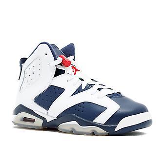 Air Jordan 6 Retro (Gs) 'Olympic 2012 Release' - 384665-130 - Shoes