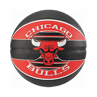 Spalding NBA Team Chicago Bulls Basketball Red/Black
