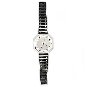 Spiegel-Wanduhr in Armbanduhr-Form Quarz