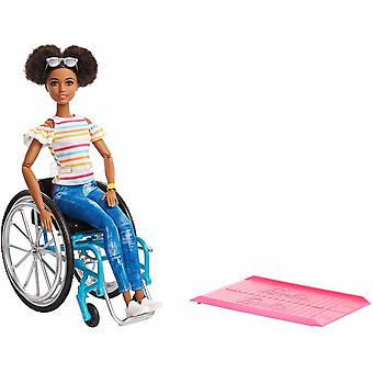 Barbie Fashionistas Doll #133 Brunette doll with wheelchair