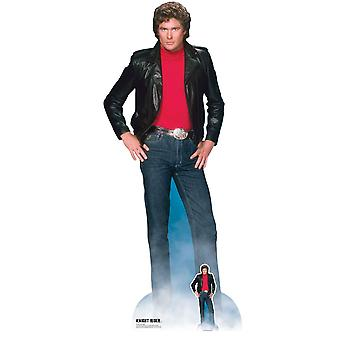 David Hasselhoff as Michael Knight Official Knight Rider Lifesize Cardboard Cutout