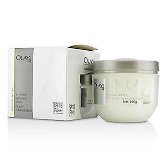 Olay Natural White UV Natural Lightening grädde SPF 18-100g/3.5 oz
