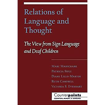 Relations of Language and Thought - The View from Sign Language and De