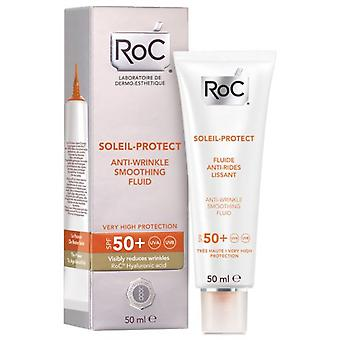 Roc Anti-wrinkle fluid 50 + Soleil Protect 50 ml