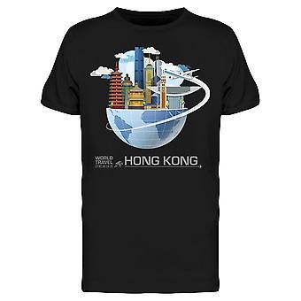 Hong Kong Global Travel Tee Men's -Kuva Shutterstockilta