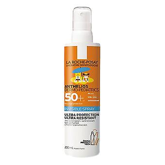 Spray Sun Protector Anthelios Dermo-pediatrie La Roche Posay Spf 50+ (200 ml)