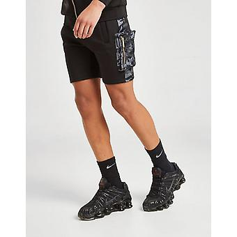 Nou De aprovizionare & Cerere Boys& Camo Hybrid Pantaloni scurți negru