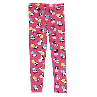Hello kitty girls leggings printed