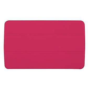 "Slim Compact PU Magnetic Leather Case Cover for LG G Pad F 8""[Hot Pink]"