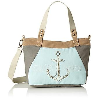 Adelheid Gl ck Ahoi Handtasche Klein Shoulder bag Donna Azzurro/Beige (Eisblau) Single Size