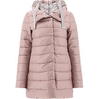 Herno Pi053dr120174150 Women's Pink Nylon Down Jacket