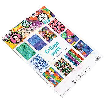 Art By Marlene 5.0 Collage Paper A4 20/Pkg-NR. 06, 10 Designs/2 Each