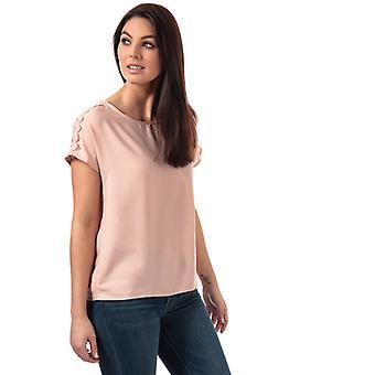 Vrouwen's Vero Moda Lacey Boca Top in Pink