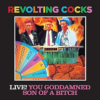 Revolting Cocks - Live You Goddamned Son of a Bitch [CD] USA import