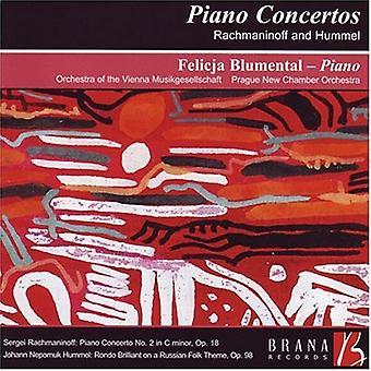 Rachmaninov/Hummel - Piano Concertos by Rachmaninov and Hummel [CD] USA import